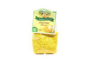 Паста La Pasta di Camerino яєчна Grattini 250г х24