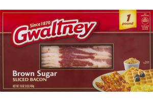 Gwaltney Sliced Bacon Brown Sugar