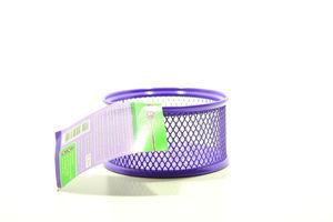Підставка для скріпок ZiBi металева,кол.асорті 80*80*40мм