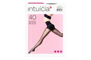 Колготки жіночі Intuicia Silhouette 40den 4 black