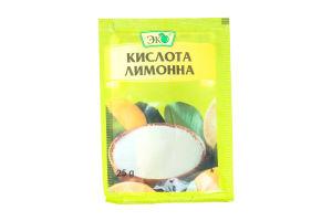 Кислота лимонная Эко 25г