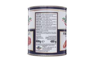 Томати очищені (пелаті) у власному соку тм ANTICO CASALE 850мл
