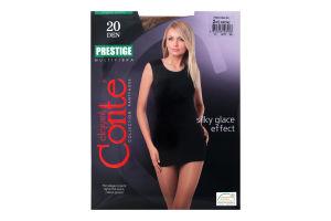 Колготки жіночі Conte Prestige 20den 2-S bronz