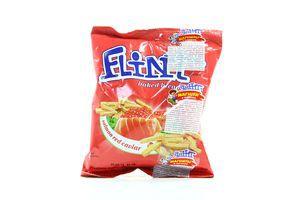 Сухарики со вкусом икры красной лососевой Flint м/у 90г