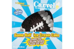 Carvel Ice Cream Cake Game Ball