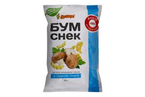 Палички кукурудзяні солоні зі смаком грибів Бум Снек Бумкорн м/у 30г