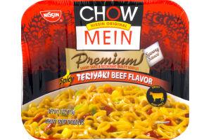 Nissin Chow Mein Premium Spicy Teriyaki Beef Flavor Nissin 70662087206 Customers Reviews Listex Online