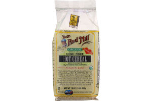 Bob's Red Mill Organic Whole Grain High Fiber Hot Cereal With Flaxseed