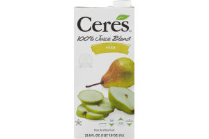 Ceres 100% Juice Blend Pear
