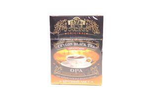 Чай Sun Garden чорний Opa 100г х24