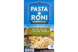 Pasta Roni Rustic Recipes Olive Oil & Italian Herb