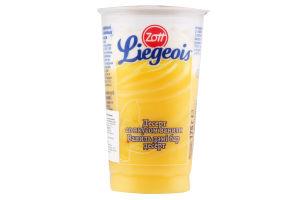 Десерт 2.4% молочний з вершковим мусом Ванільний Zott Liegeois 175г