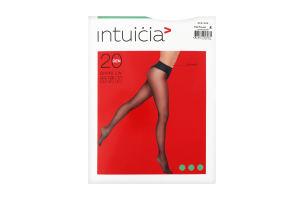 Колготки жіночі Intuicia Bikini LW 20den 4 vizone