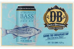 Devils Backbone Brewing Company Striped Bass Pale Ale - 6 PK