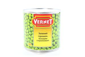 Горошек зеленый Вернет ж/б 400г