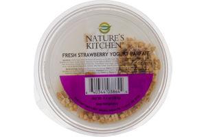 Nature's Kitchen Fresh Strawberry Yogurt Parfait