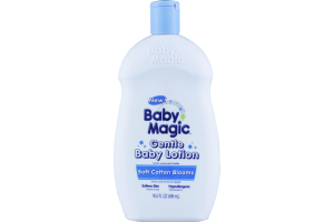 Baby Magic Gentle Baby Lotion Soft Cotton Blooms