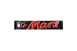 Батончик Mars*2 з нугою та карамеллю 8*24*70г