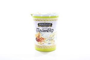 Морозиво Імператор Смаку Пломбір з шокол-вафельк ст 250г х15