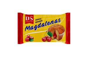Кексы Вишня Magdalenas Домашнє свято м/у 210г