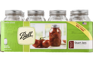 Ball Quart Jars Regular Mouth - 12 CT