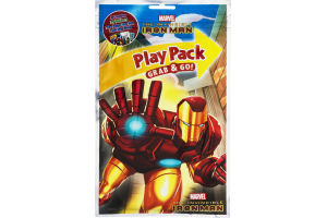 Play Pack Grab & Go! Marvel The Invincible Iron Man