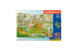 Пазл для детей от 3лет №0001 Maxi Puzzle Castorland 40эл
