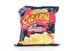 Кукурузные палочки со вкусом красной икры с маслом Салют м/у 45г