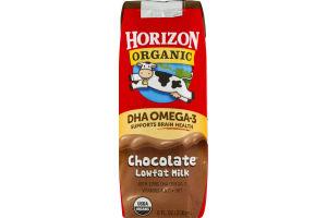 Horizon Organic DHA Omega-3 Choclate Lowfat Milk