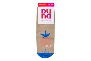 Шкарпетки жіночі Duna №3127 23-25 бежевий