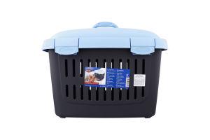 Переноска для домашніх тварин до 5кг з ременем 44х33х32см №39792 Midi-Capri Trixie 1шт