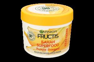 Маска для волосся Банан Superfood Екстра живлення Fructis Garnier 390мл