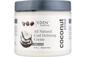 Eden BodyWorks All Natural Curl Defining Creme Coconut Shea