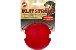 Spot Play Strong Indestructible Dog Toy Rubber Ball