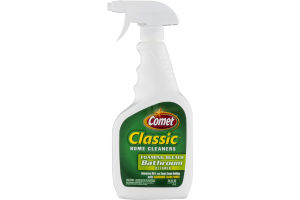 Comet Classic Home Cleaners Foaming Bleach Bathroom Cleaner