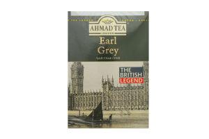Чай чорний з ароматом бергамоту Earl Grey Ahmad Tea к/у 200г