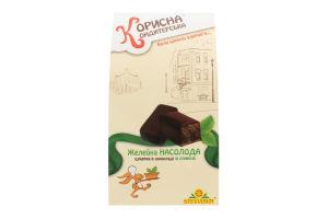 Конфета глазированная шоколадом Желейное наслаждение Корисна Кондитерська к/у 150г