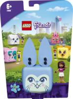 Конструктор для дітей від 6років №41666 Куб-кролик з Андреа Friends Lego 1шт
