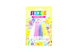 Свічки Sizzle Candles з підставкою 24шт