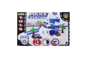 Набір іграшковий для дітей від 12міс №53520 Police Station Play Tracks City Wader 1шт