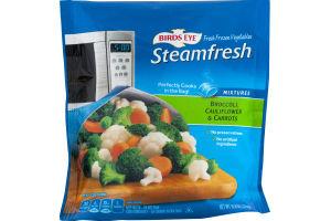 Bird's Eye Steamfresh Broccoli, Cauliflower & Carrots