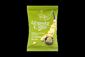Арахис Козацька слава жареный соленый вкус васаби