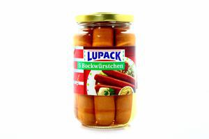 Сосиски Lupack 5 Bockwurst 270г