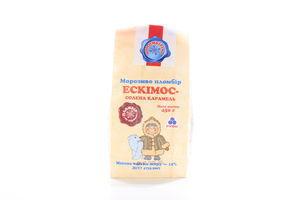 Морозиво Ескімос солена карамель Рудь 450г