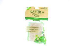 Стреп-мочалка з натуральних волокон кропиви Natura Vita
