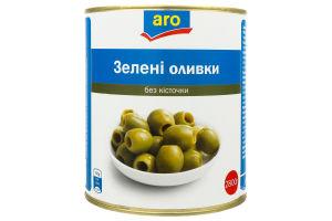 Оливки зеленые без косточки Aro ж/б 2.8кг