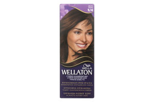 Крем-краска для волос Wellaton №5/4 Wella