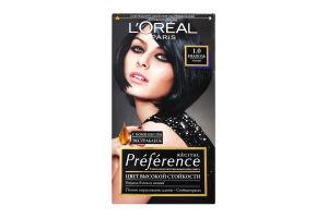 Крем-краска для волос Preference Неаполь №1.0 L'Orеal