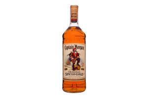 Ром 1л Spiced Gold Captain Morgan