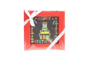 Шоколад Шоколадні чудеса Листівка Happy Birthday 55г х12